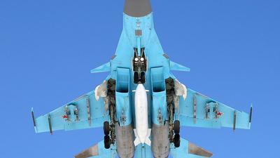 02 - Sukhoi Su-34 Fullback - Russia - Air Force