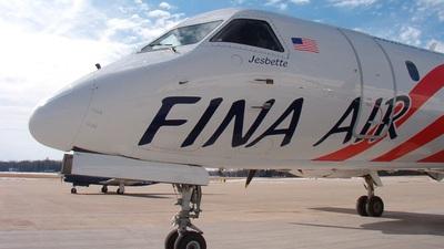 N108PX - Saab 340A - Fina Air