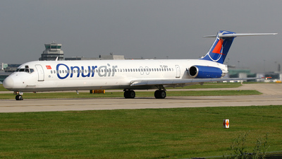 TC-OAV - McDonnell Douglas MD-83 - Onur Air