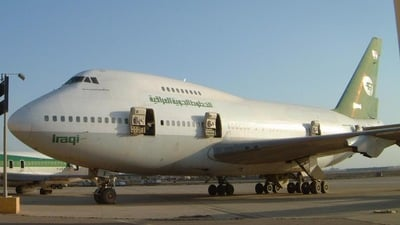YI-AOX - Boeing 747SP-09 - Iraqi Airways