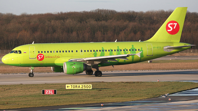 VP-BTO - Airbus A319-114 - S7 Airlines