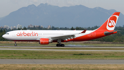 D-ALPC - Airbus A330-223 - Air Berlin (LTU)