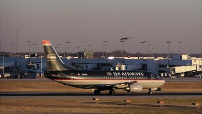 N514AU - Boeing 737-3B7 - US Airways