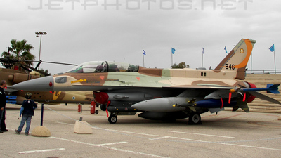 846 - Lockheed Martin F-16I Sufa - Israel - Air Force