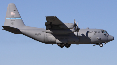 84-0209 - Lockheed C-130H Hercules - United States - US Air Force (USAF)