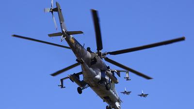 7354 - Mil Mi-24V Hind E - Czech Republic - Air Force
