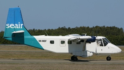 VH-MSF - GAF N22C Nomad - Seair Pacific