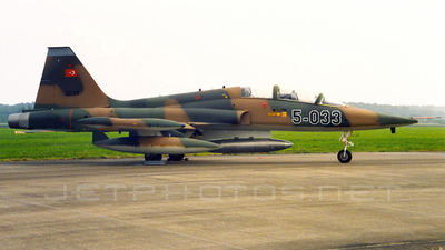 71-01033 - Northrop F-5B Freedom Fighter - Turkey - Air Force