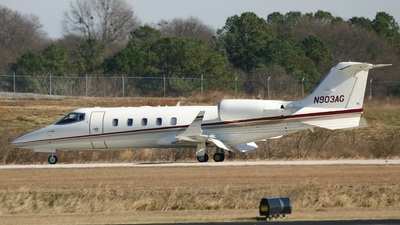 N903AG - Bombardier Learjet 60 - Private