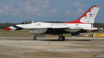 87-0319 - General Dynamics F-16C Fighting Falcon - United States - US Air Force (USAF)