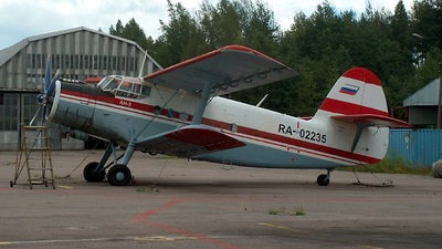 RA-02235 - Antonov An-2TP - Civil Aviation Academy