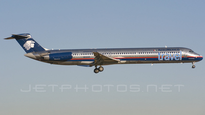 N838AM - McDonnell Douglas MD-83 - Aeroméxico Travel