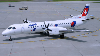 HB-IZH - Saab 2000 - Crossair