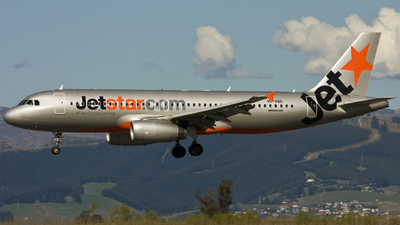 VH-VQD - Airbus A320-232 - Jetstar Airways