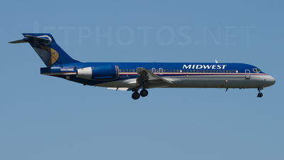 N909ME - Boeing 717-2BL - Midwest Airlines