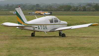 G-ATOK - Piper PA-28-140 Cherokee - Private