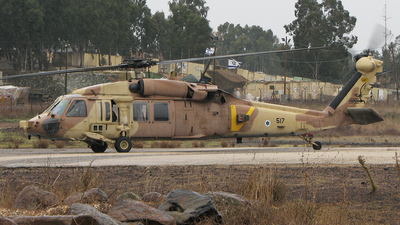 517 - Sikorsky S-70A-55 Yanshuf 3 - Israel - Air Force