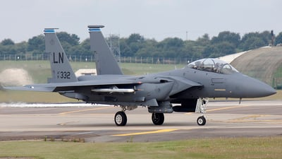 91-0332 - McDonnell Douglas F-15E Strike Eagle - United States - US Air Force (USAF)