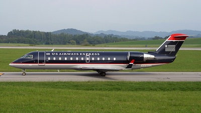 N593ML - Bombardier CRJ-200LR - US Airways Express (Mesa Airlines)