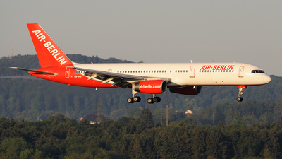 HB-IHS - Boeing 757-2G5 - Air Berlin (Belair Airlines)