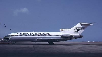 YV-765C - Boeing 727-22 - Servivensa