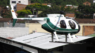 PNC-0104 - Hughes 500D - Colombia - Police