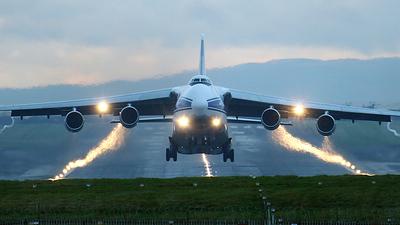 - Antonov An-124-100 Ruslan - Volga Dnepr Airlines
