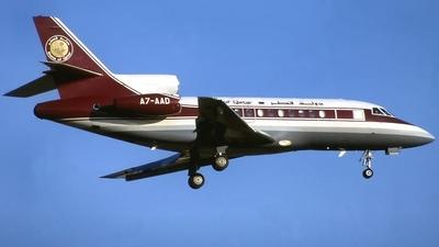 A7-AAD - Dassault Falcon 900 - Qatar - Amiri Flight