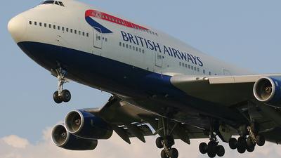 G-CIVT - Boeing 747-436 - British Airways