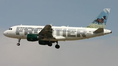 N915FR - Airbus A319-111 - Frontier Airlines