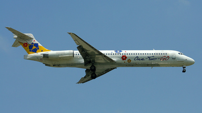 HS-OMJ - McDonnell Douglas MD-87 - One-Two-GO by Orient Thai