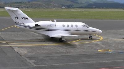ZK-TBM - Cessna 525 CitationJet 1 - Christchurch Helicopters