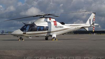 RA-01902 - Agusta A109 Power Elite - Baltic Airlines
