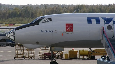 - Tupolev TU-134A-3 - Pulkovo Aviation Enterprise
