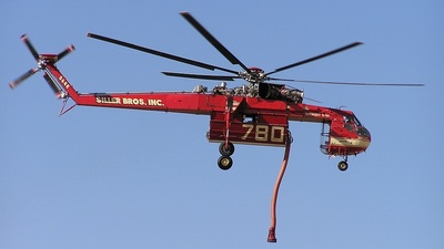 N4037S - Sikorsky S-64E - Siller Brothers