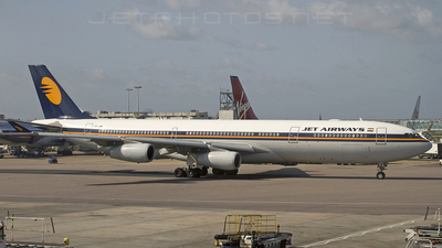 VT-JWB - Airbus A340-313E - Jet Airways