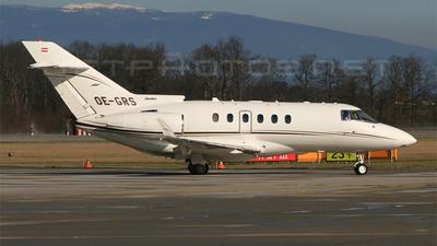 OE-GRS - Raytheon Hawker 850XP - Global Jet Austria