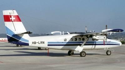 A picture of HBLRN - De Havilland Canada DHC6300 Twin Otter - [636] - © Javier Rodriguez - Amics de Son Sant Joan