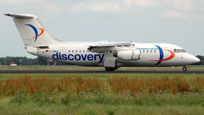 D-AWUE - British Aerospace BAe 146-200 - Discovery Link (WDL Aviation)