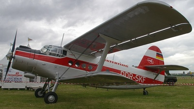 D-FONF - Antonov An-2T - Interflug