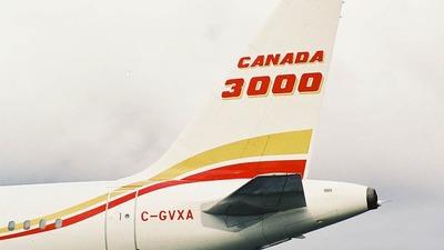 C-GVXA - Airbus A320-212 - Canada 3000 Airlines