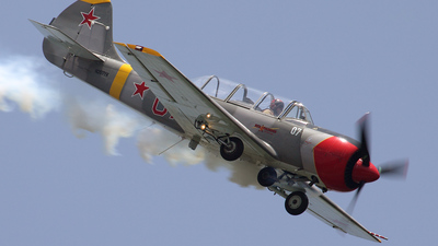 N207YK - Yakovlev Yak-52 - Private