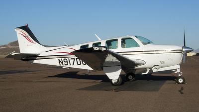 A picture of N917DC - BeechA36 Bonanza - [E1884] - © Sun Valley Aviation