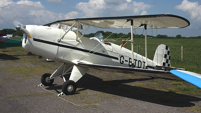 G-BTDT - CASA 1.131E Jungmann - Private