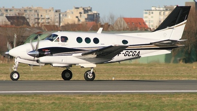 F-GCGA - Beechcraft C90 King Air - Private