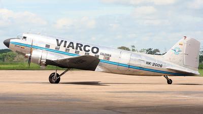 HK-2006 - Douglas DC-3 - Viarco Colombia