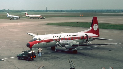G-ARRW - Hawker Siddeley HS-748 - Dan-Air London