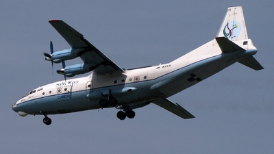 4K-AZ63 - Antonov An-12 - Silk Way Airlines