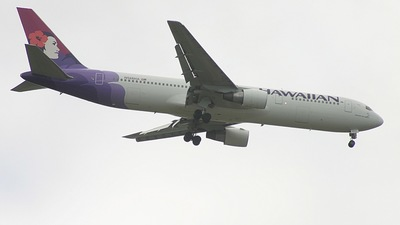 N586HA - Boeing 767-3G5(ER) - Hawaiian Airlines