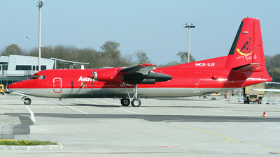 OE-ILW - Fokker F27-500 Friendship - Amerer Air